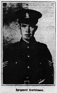 Sergeant Thomas Harbinson