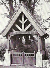 Lych Gate, Middle Church, Ballinderry