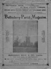 Ballinderry Parish Magazine, February 1909