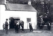Thomas Steele and Sons - one of the blacksmiths in Glenavy
