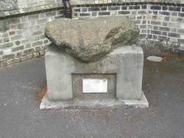 Bullan Stone at St Matthew's Parish Church