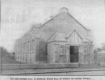 The Memorial Orange Hall in Crumlin, 1928