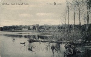 Old Shane's Castle and Lough Neagh