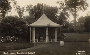 The Shell House, Langford Lodge