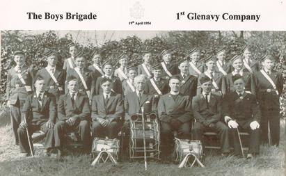 1st Glenavy Company Boys Brigade 1954