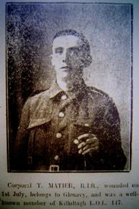 Corporal T. Matier.