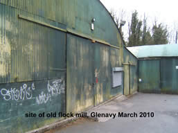 Once the location of the Flock Mill at Glenavy