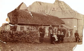 The Long Family homestead at Kinlough, County Leitrim