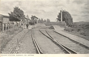 Railway Station, Glenavy, County Antrim