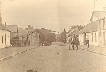Glenavy Village early 1900s