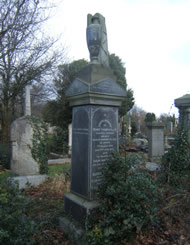 Headstone of Henry and Sarah Thompson