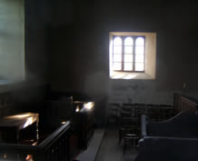 Views inside Ballinderry Middle Church October 2012