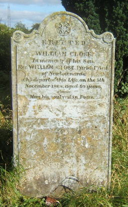 William Close Grave