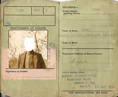 WWII Identity Card