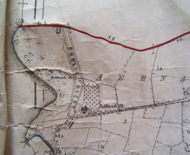 Aughnadarragh townland showing Bellbrook