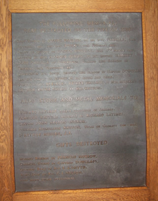 Glenavy Church Memorial