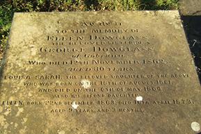 Dowglass Family Headstone