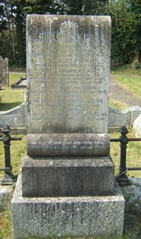 English Family headstone