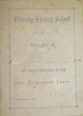 Sunday School Prize