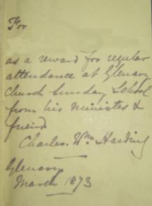 Sunday School Prize, 1873
