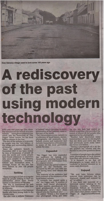 Rediscovery of the past using modern technology