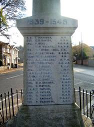 Glenavy War Memorial Panel 2