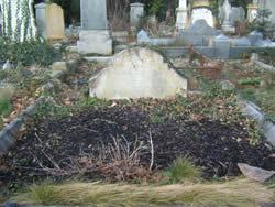 Headstone of Rev Edward Addy
