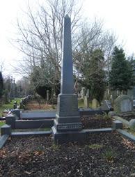Headstone of William John Johnston