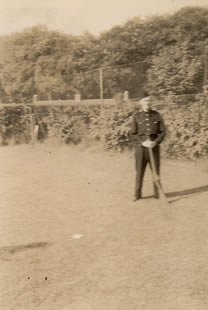 Believed to be a member of The Home Guard at Glenavy No date (Kindly provided by the McKeown family)