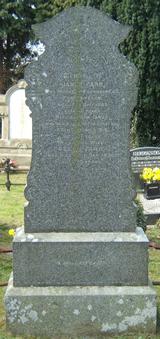 James Farr Headstone
