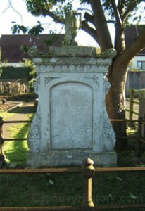 Jonathon Peel Headstone
