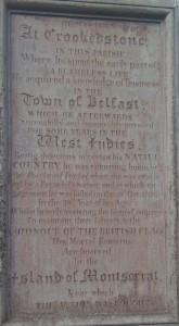 Cunningham Memorial, Killead Presbyterian Church
