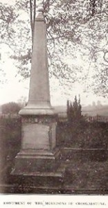 Monument of The Morrisons of Crookedstone