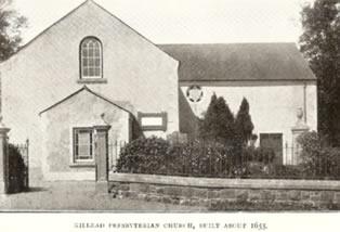 Killead Presbyterian Church, built about 1655