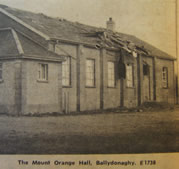 The Mount Orange Hall, Ballydonaghy