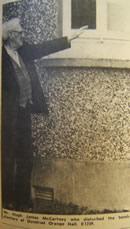 Mr Hugh James McCartney who disturbed the bomb planters at Dundrod Orange Hall