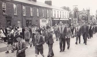 Members of the Junior Lodge and LOL 1940 Rushyhill