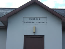 View of the old Dundrod National School
