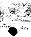 1834 letter from Mr J Stewart to Mr George S Boulton